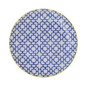 Porcelánový talíř Geometric No2, 16x2,1 cm