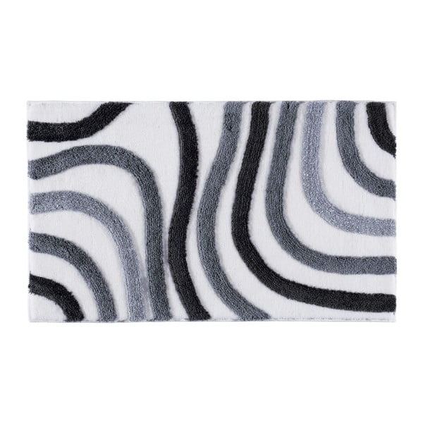 Koupelnová předložka Sardes Grey, 70x120 cm