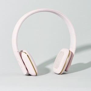 Bezdrátová sluchátka aHead Pink