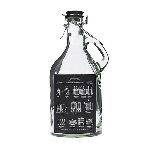 Skleněná láhev InArt Blackboard