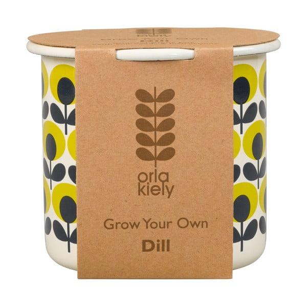 Květináč se semínky kopru Orla Kiely Grow Your Own