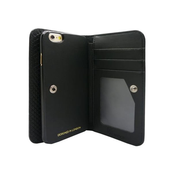 Obal na iPhone6 Wallet Maxi Croc Black