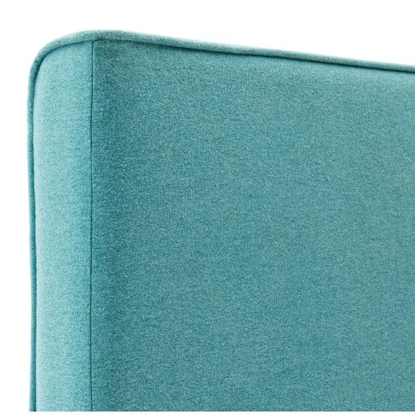 Dětská modrá postel PumPim Noa, 200x90cm