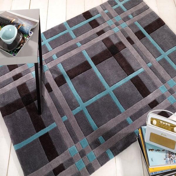 Koberec Weave 80x150 cm, šedý