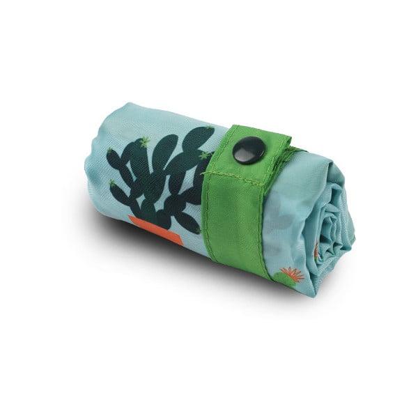 Skládací nákupní taška Cactus