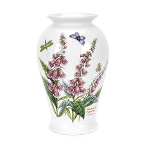 Kameninová váza s květinami Portmeirion Foxglove, výška 20 cm
