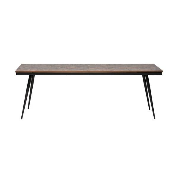 Jídelní stůl z akáciového dřeva BePureHome Rhombic, 220 x 90 cm