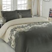 Lenjerie de pat cu cearșaf Mixscarlet, 200 x 220 cm