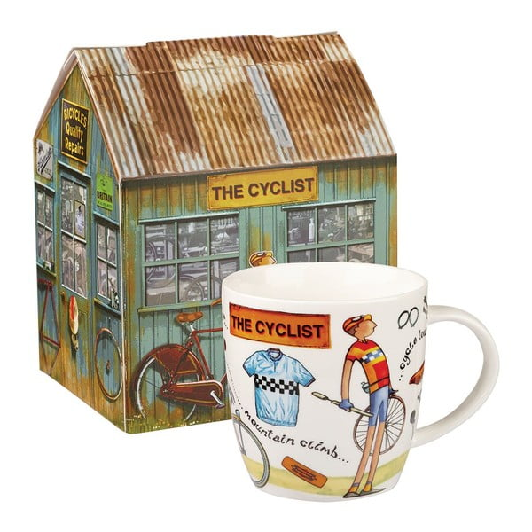 Hrnček z kostného porcelánu Churchill China At Your Leisure The Cyclist, 400 ml