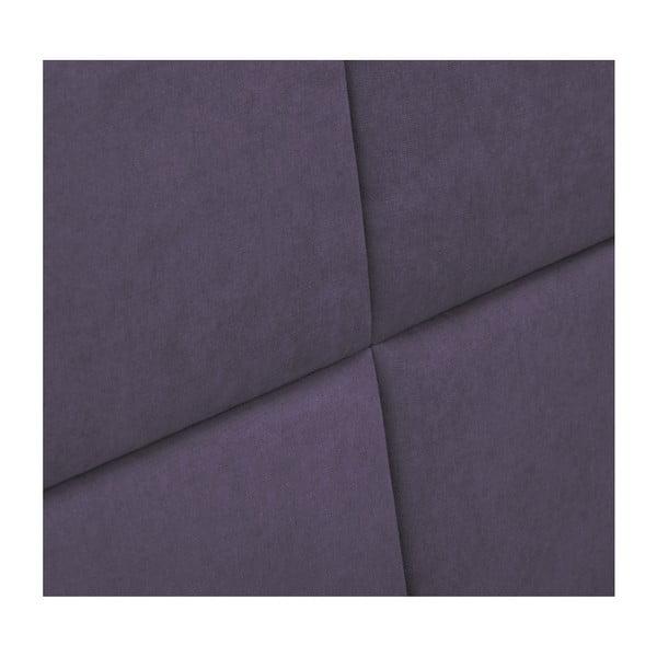 Levandulově fialové čelo postele HARPER MAISON Gala, 160 x 120 cm