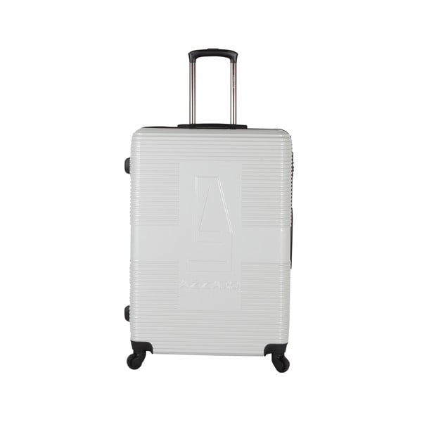 Kufr Azzaro Medium White, 70.2 l