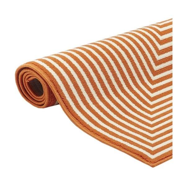 Covor foarte rezistent Floorita Braid, 160x230cm, portocaliu