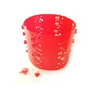 Hearts Red, vyměnitelné svítidlo