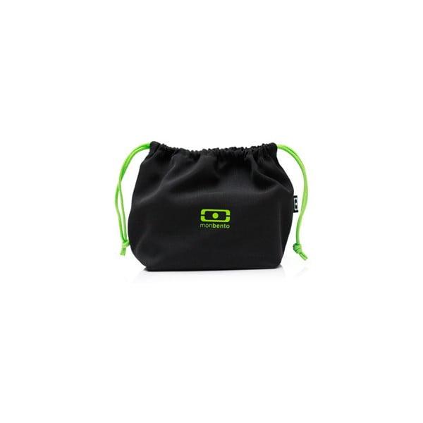 Kapsa na svačinový box Monbento Black/Green