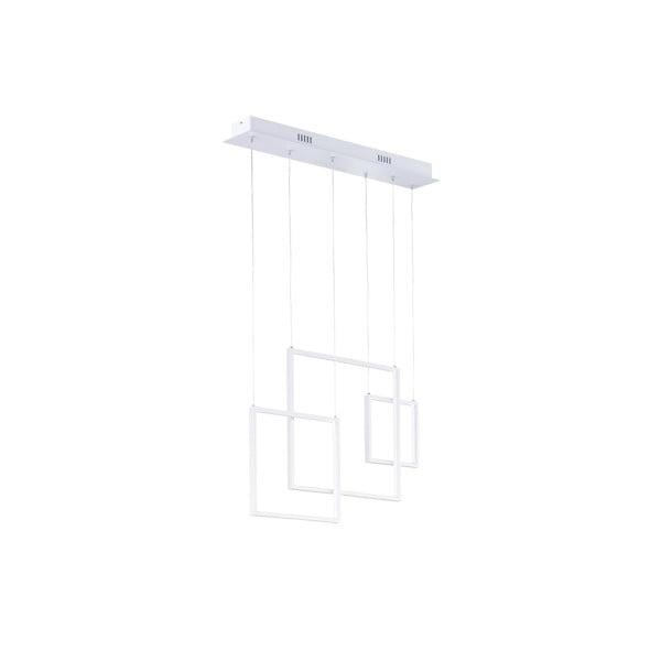 Lustră LED Trio Tucson, înălțime 150 cm, alb