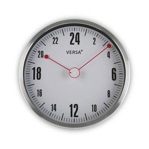 Šedé kulaté nástěnné hodiny Versa Silly, ø30cm