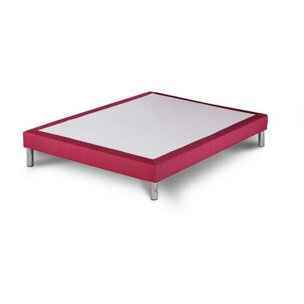 Różowe łóżko kontynentalne Stella Cadente Maison, 140x200 cm