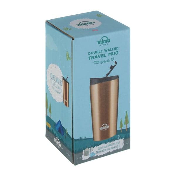 Sticlă termos Premier Housewares, 250 ml, negru-arămiu