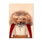 Plakát Hedgehog, 30x42 cm