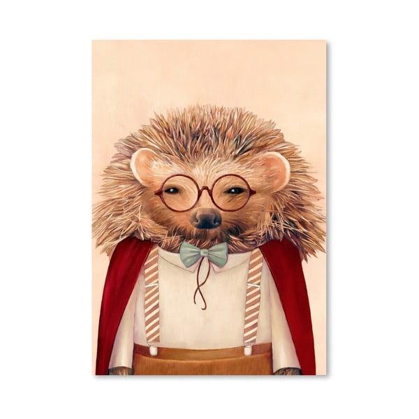 Plakát Hedgehog, 42x60 cm