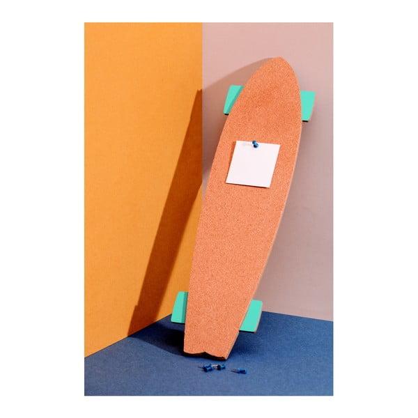 Korková nástěnka DOIY Skate Memo