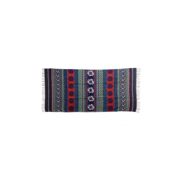 Šátek/pléd Manton Vintage Azul, 120x240 cm