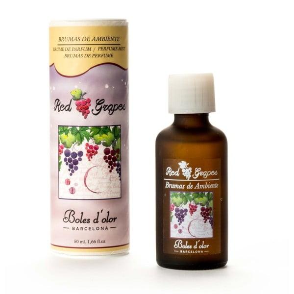 Olejek do dyfuzora ultradźwiękowego o zapachu winogron Ego Dekor Red Grapes, 50 ml