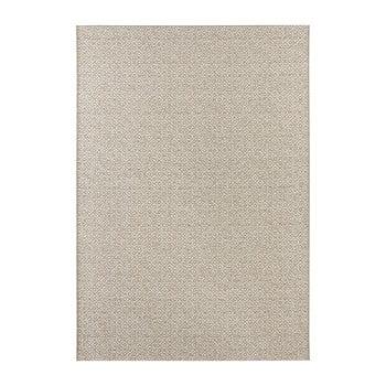 Covor potrivit pentru exterior Elle Decor Bloom Croix, 140 x 200 cm, bej - crem