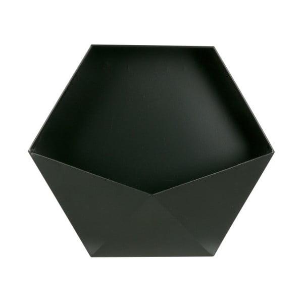 Černá kovová nástěnná dekorace De Eekhoorn, 45 x 39 cm