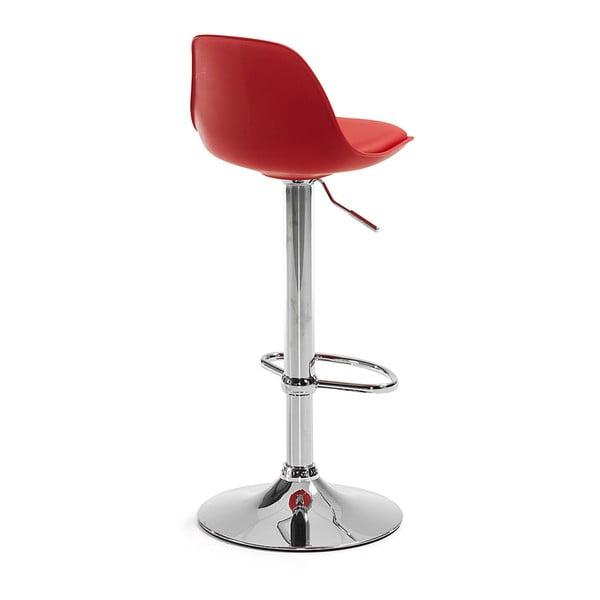 Sada 2 červených barových židlí La Forma Orlando