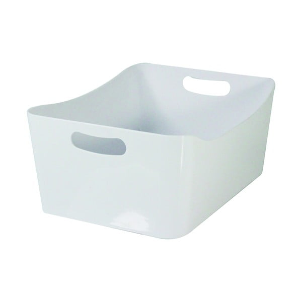 Bílý úložný box Jocca Basket Medium, 24 x 17 cm