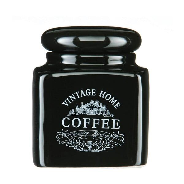Recipient cafea Premier Housewares Vintage Home, negru