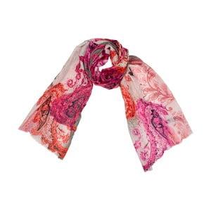 Šátek s příměsí hedvábí Shirin Sehan - Arabesque