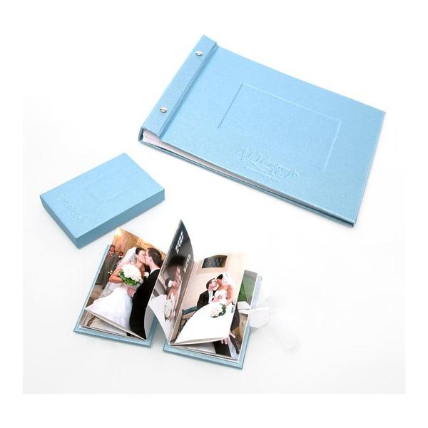 Fotoalbum Shine, světle modré