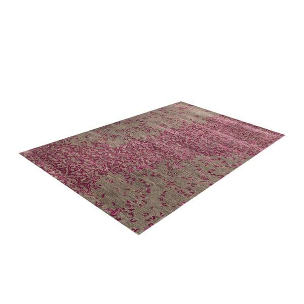 Ručně tuftovaný fialový koberec New Jersey Lilac, 122x183cm
