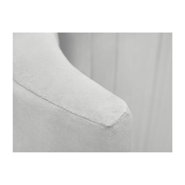 Čelo postele ve stříbrné barvě Cosmopolitan design Vegas, 180x120cm