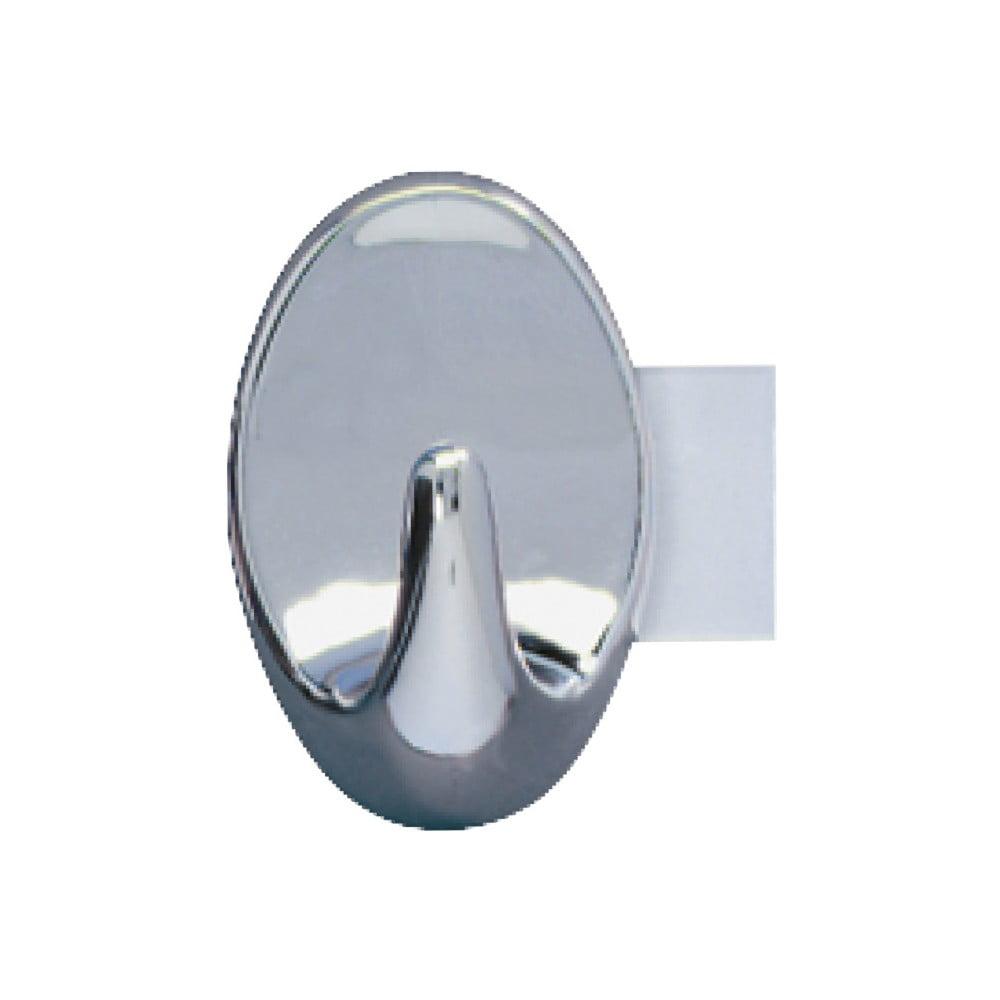 Sada 2 nástěnných háčků Wenko Strip It Maxi Hooks Chrome
