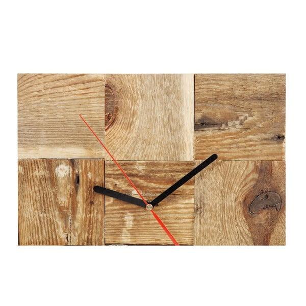 Nástěnné hodiny Natural Plain