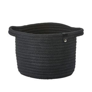 Coșuleț de depozitare  Zone Roll, 14 x 18 cm, negru