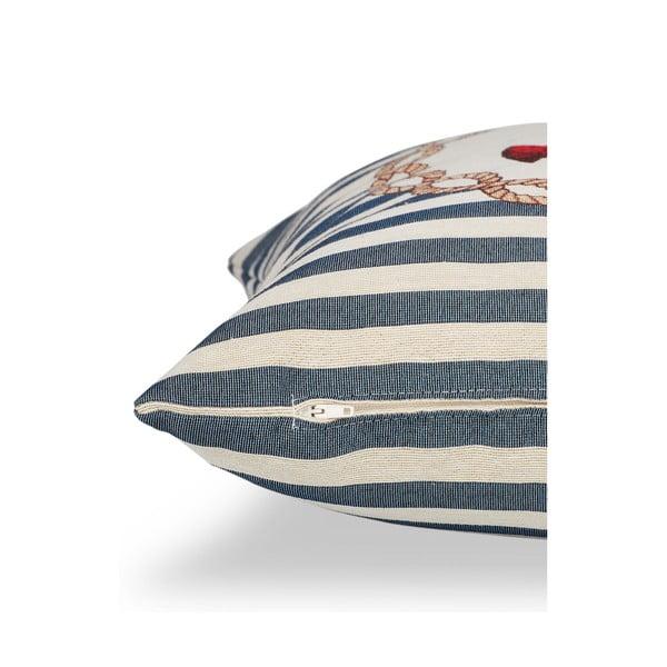 Povlak na polštář Maritim Anchor Blue, 45x45cm