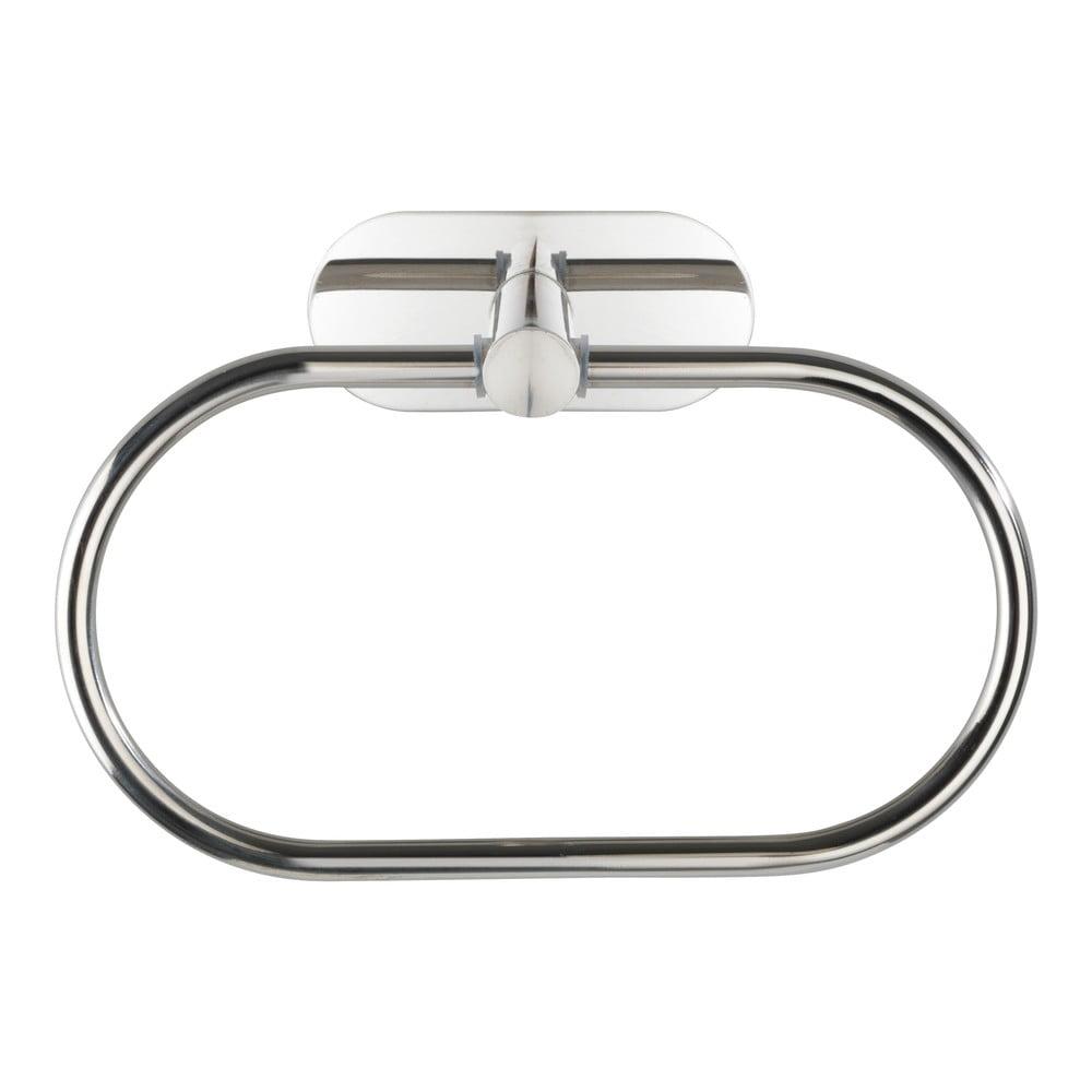 Produktové foto Nástěnný držák na ručníky z nerezové oceli Wenko Orea Ring Turbo-Loc®