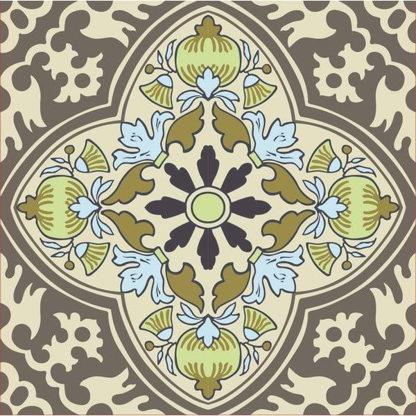 Samolepky Tile Art Grey Symbols