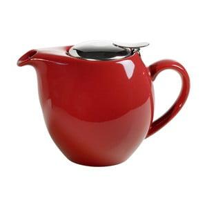Červená kameninová konvice se sítkem na čaj Maxwell&Williams Infusions T, 1 l