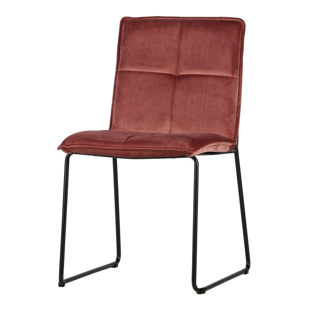 Sada 2 červených židlí De Eekhoorn Evan