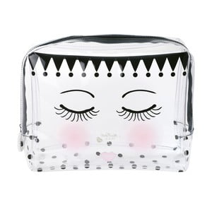 Geantă produse cosmetice Miss Étoile Eyes And Dots, 24 x 9 cm