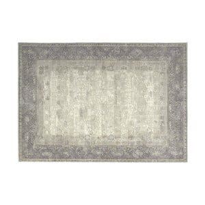 Šedý vlněný koberec Kooko Home Skittle,160x230cm