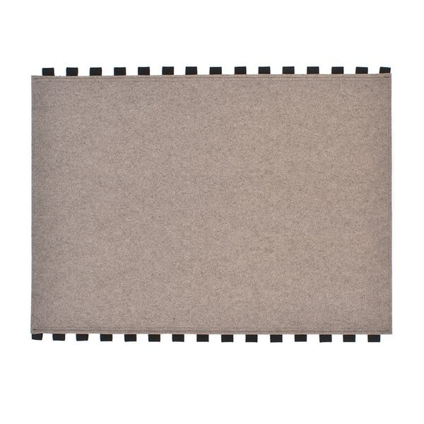 Tapperello Beige, koberec 120x95 cm
