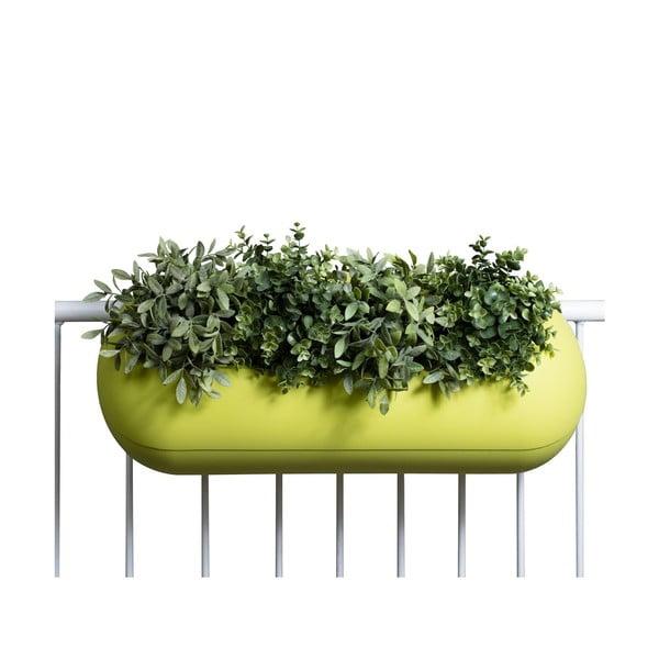 Květináč Balconismo, zelený