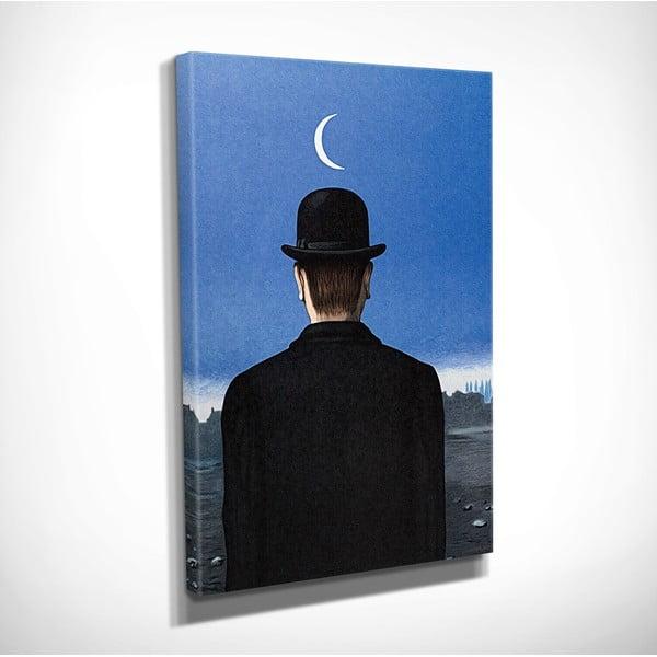Nástěnná reprodukce na plátně Rene Magritte, 30 x 40 cm