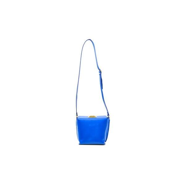 Kožená kabelka Tracy, modrá